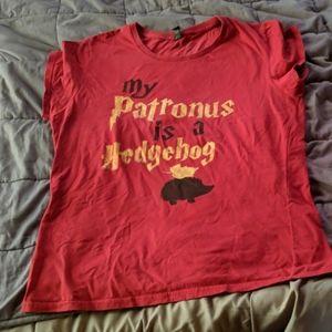 T-shirt Hedgehog Patronus
